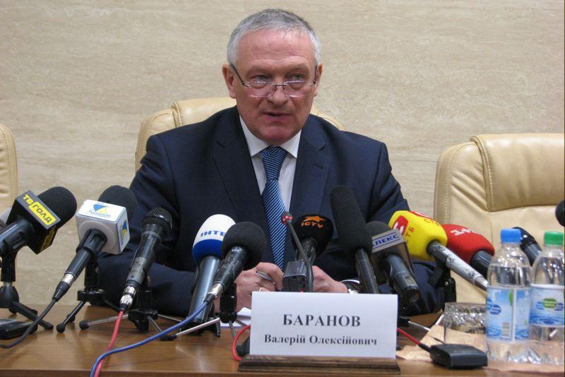 Баранов губернатор запорожья попал в дтп