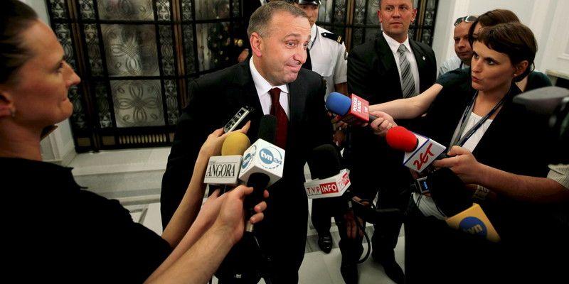 Polish Parliament speaker Grzegorz Schetyna