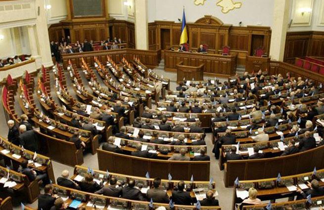 Рада просит КС рассмотреть конституционность указа о роспуске парламента
