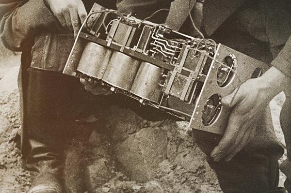 Блок управления объектной мины Ф-10 без корпуса