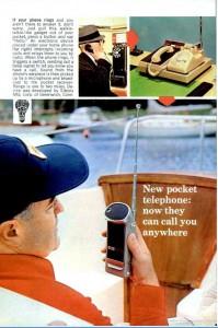 Телефонный радиоудлинитель. Popular Mechanics, сентябрь 1967 г., с.110