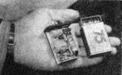 1957 год - рация со спичечный коробок