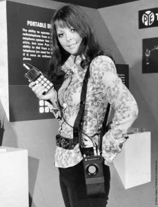 Мобильный телефон британской фирмы Pye Telecommunications, 11 апреля 1972 г.