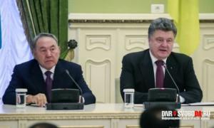 Nazarbajev i Poroshenko