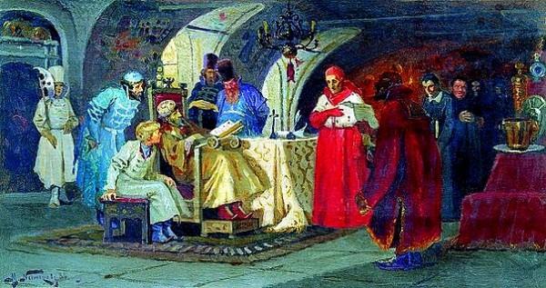 """Антонио Поссевино,""""Московия"""", 1586 г."""