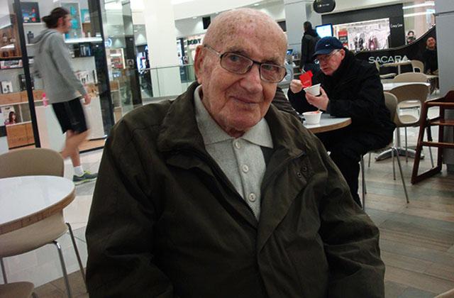 Ветеран югославского партизанского движения Арье Ливне 1921 года рождения