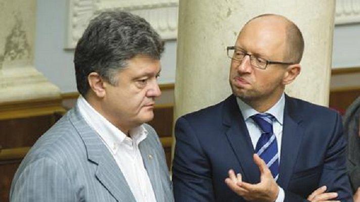 Яценюк и Порошенко существуют только до конца зимы 2015 года