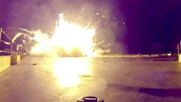 приземления первой ступени Falcon 9