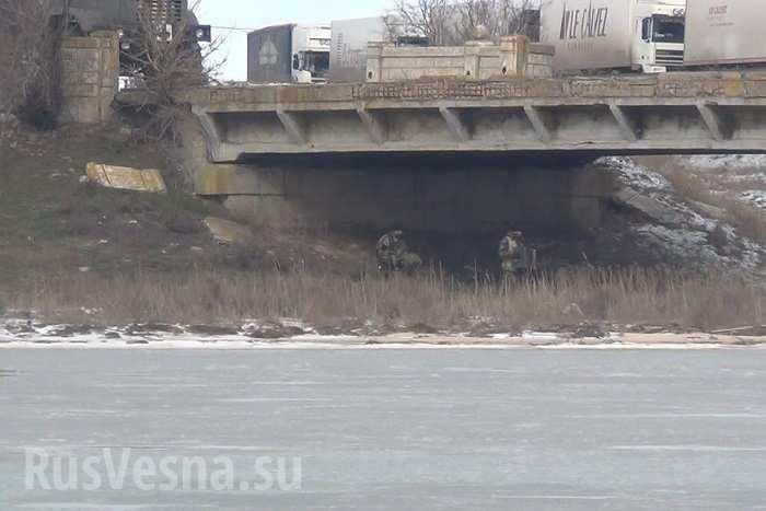Минирование мостов в Крым