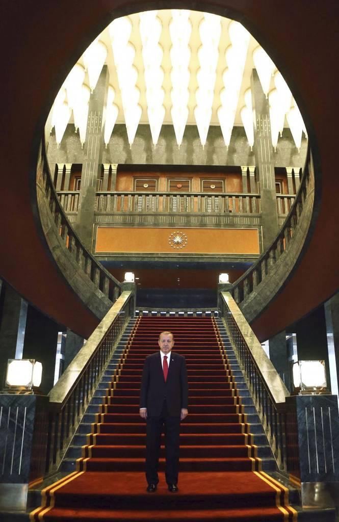 TURKEY-POLITICS-PALACE  ADM475