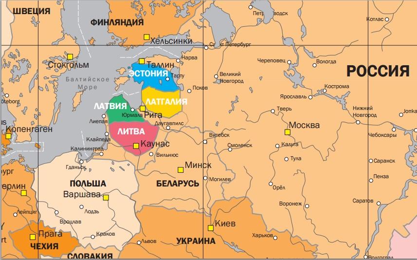 Так, по версии Ростислава Ищенко, может выглядеть карта частично обновленной Европы. Публикуется впервые.