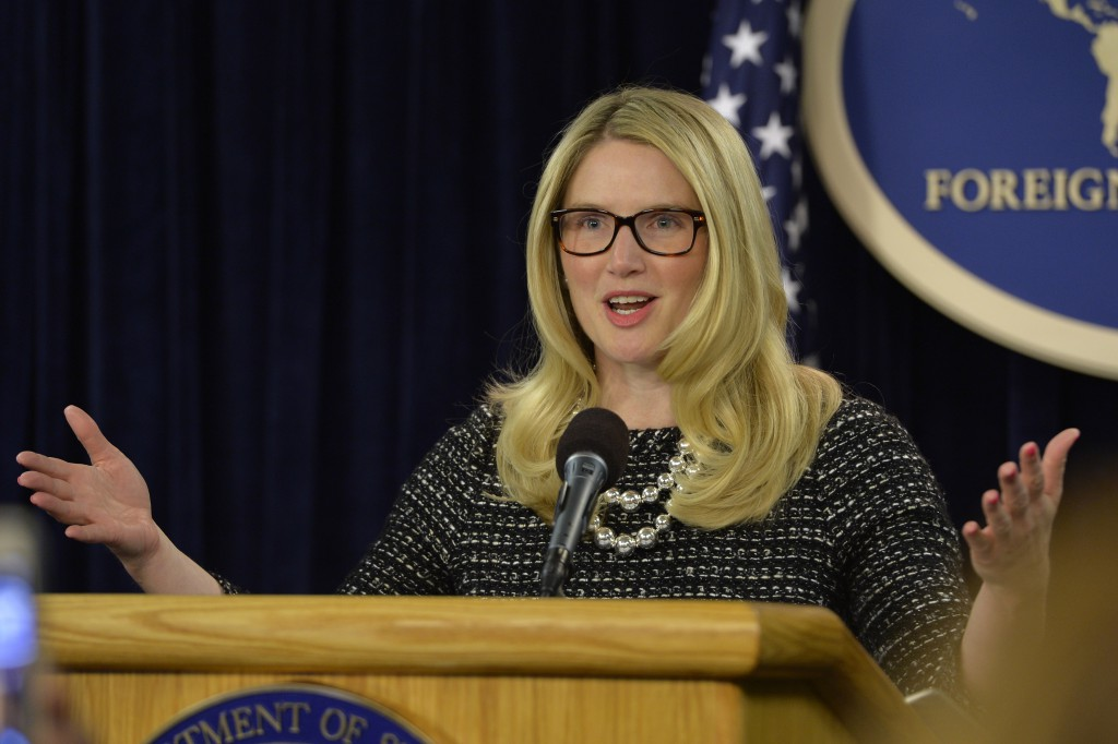 US-WASHINGTON-FOREIGN POLICY-MARIE HARF