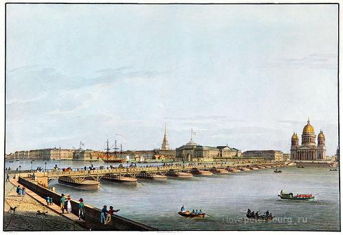 Рисунок моста 1732 года