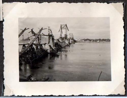 Разрушенный мост им. Е. Бош.