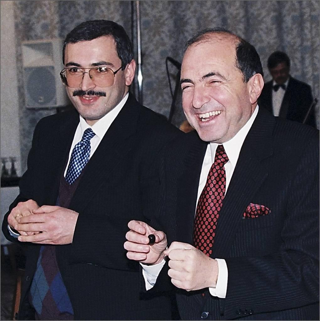 Mikhail Khodarkovsky, Boris Berezovsky