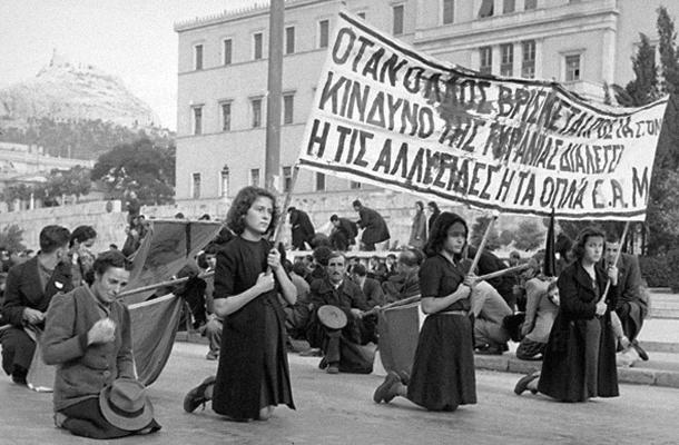 На коленях: женщины протестуют против расстрелов