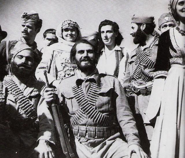 Греческие партизаны – бойцы ЭЛАС