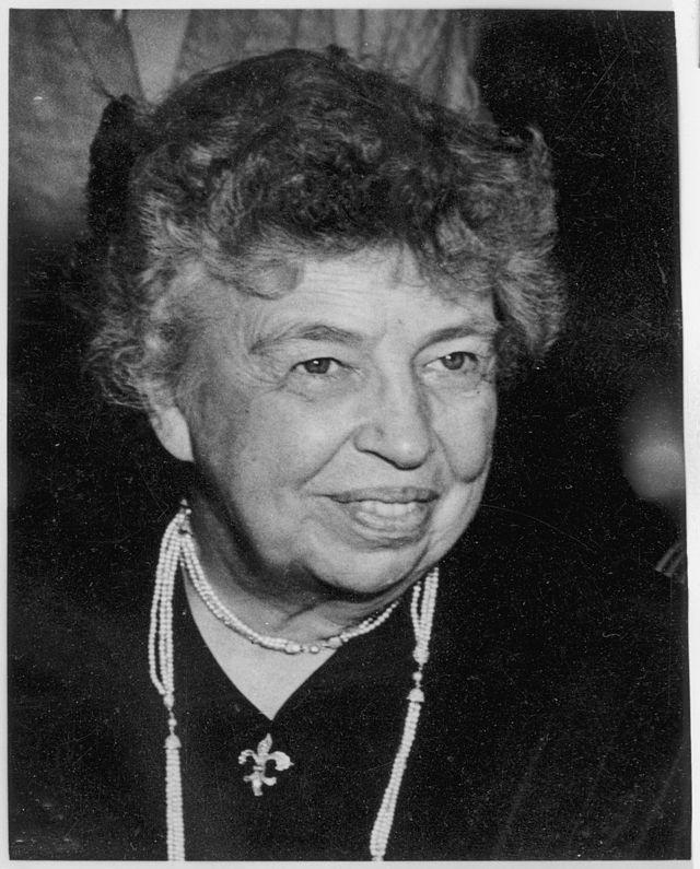 Анна Элеонора Рузвельт (1884–1962)