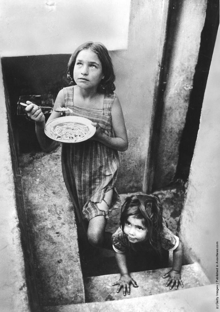 Дети-беженцы. 1947 г