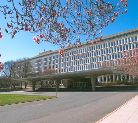 Штаб квартира ЦРУ в Лэнгли. Фото с сайта ЦРУ