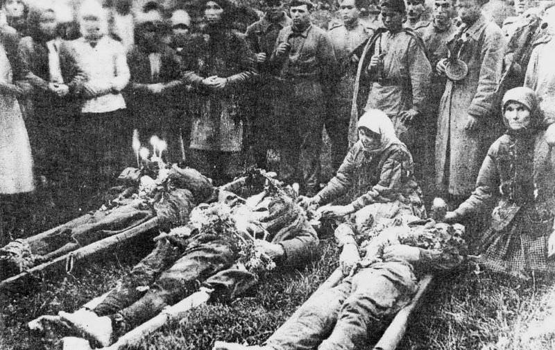 Жертвы усташей.
