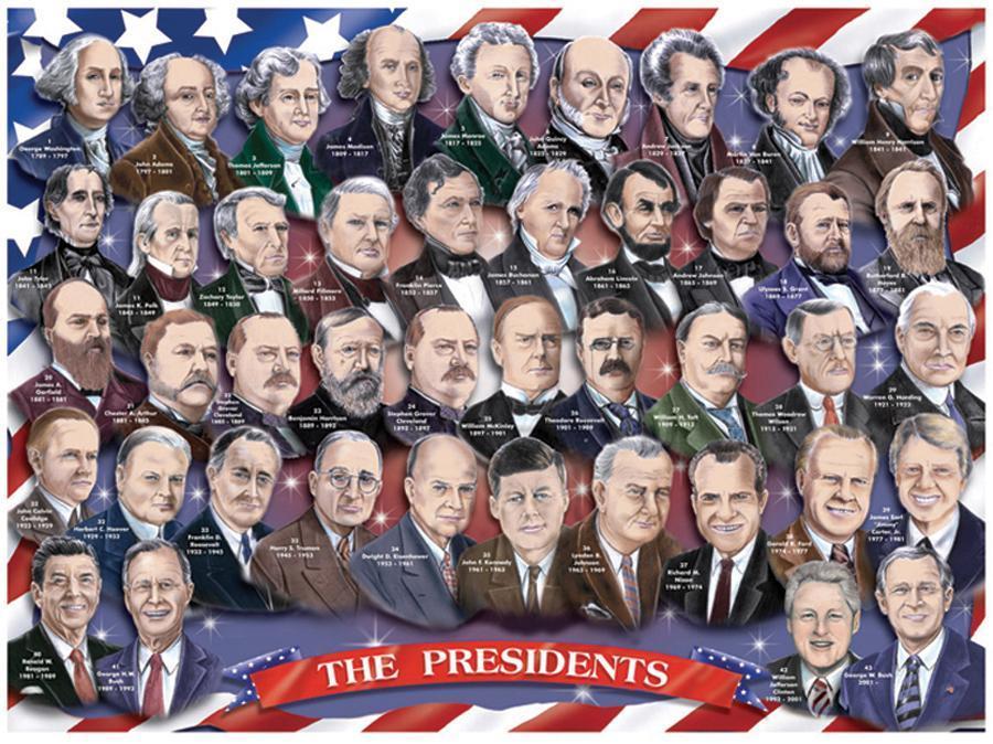 Все президенты США - родственники