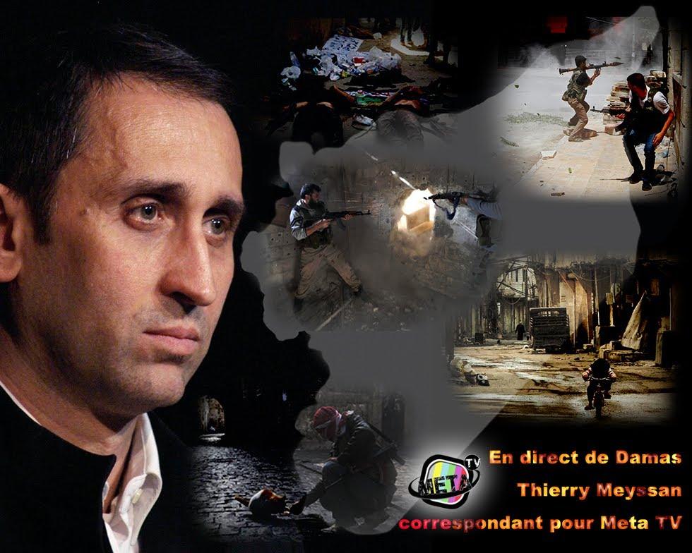 Тьерри Мейсан о Сирии