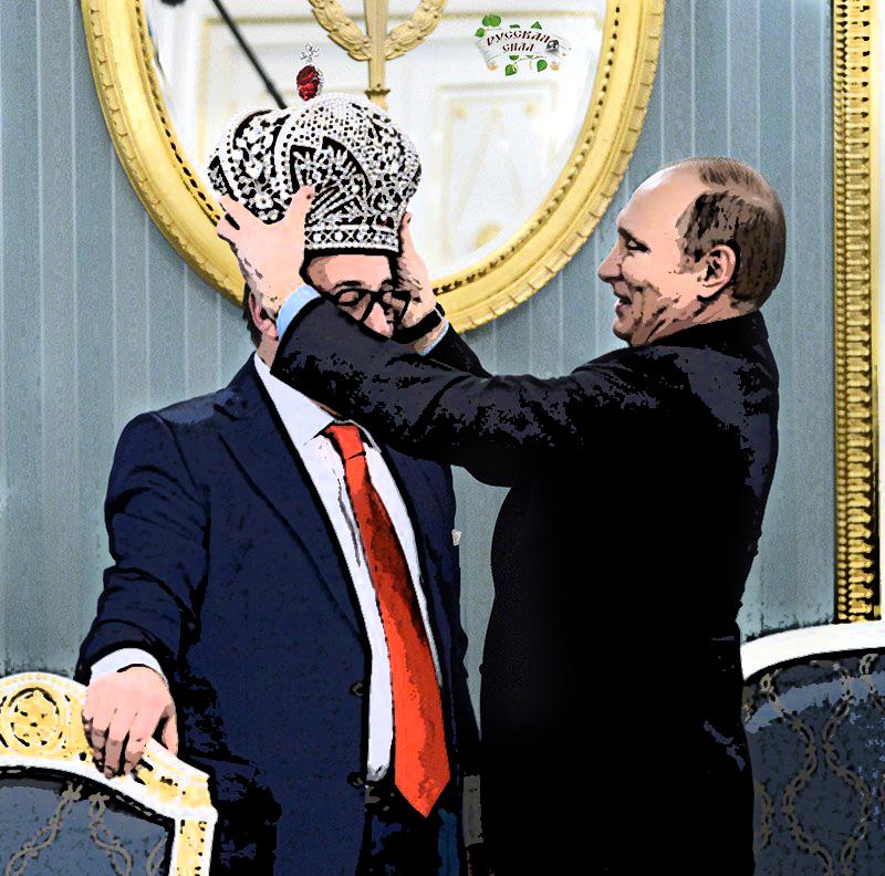 Путин и Хазанов