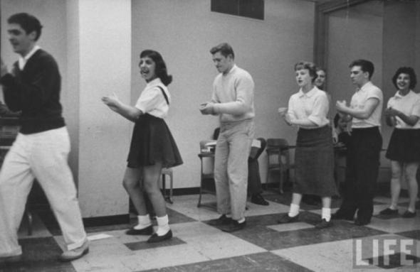 Танцевальный класс.