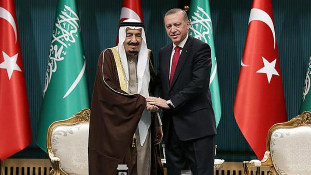 Эрдоган и король Саудовской Аравии