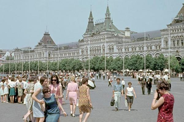 СССР, 70-е, советские люди, советский человек, 1970