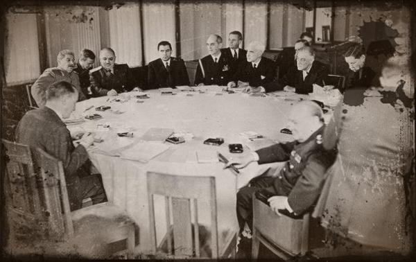 Сталин, Рузвельт, ялта, вторая мировая война, дипломатия, переговоры о мироустройстве, ООН