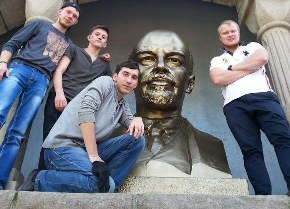 бюст Ленина, Алое поле, Челябинск