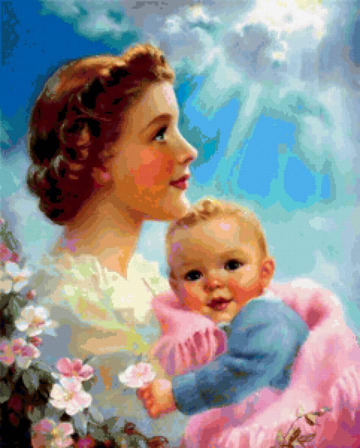 мама и младенец-2