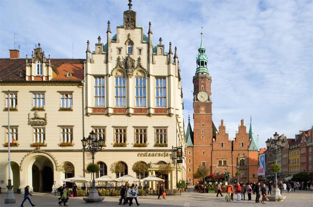 Вроцлав, Нижняя Силезия, Польша.