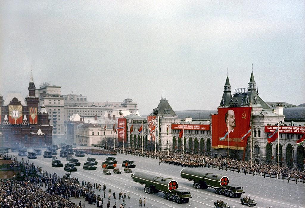 Парад Победы 1965 год