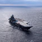 Авианосец «Адмирал Кузнецов» провел учение по ПВО в Баренцевом море