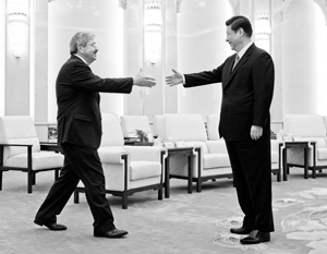 реакция китая на выступление путина сегодня