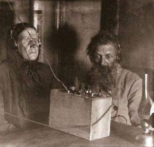 Как слушали радио в деревне